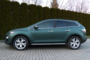 mazda cx7 pokleika plivkou green tv