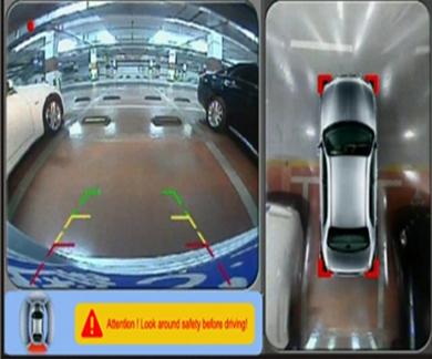Автомобільна система кругового огляду Gazer - Паркувальні системи 360 градусів
