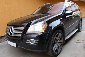 Mercedes-Benz GL 550 – Установка навигационных GPS карт 2013-2014 года